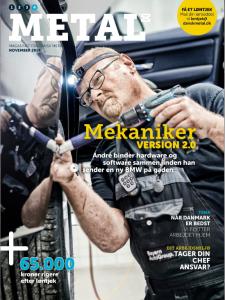Fotografhusets coverphoto på Metal nr 3 2014