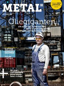 Fotografhuset på forsiden af Metalbladet nr 3 2014