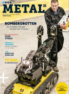 Fotografhusets coverphoto på Metal magasinet nr 1 2015