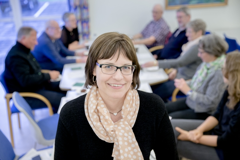 Frivilligkoordinator Hanne Lykkeskov